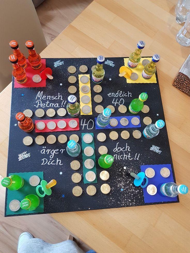 Geschenk Zum 40 Geschenke Ideen Diybirthdaydecor Geschenk Zum