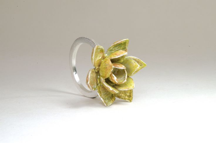 Piccoli giardini dargento da indossare anelli e collane di Susana Teixeira Jewelry  KEBLOG