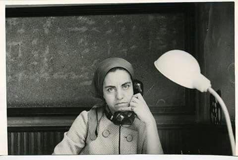 Hayriye Özkoçak ilk kadın muhabir