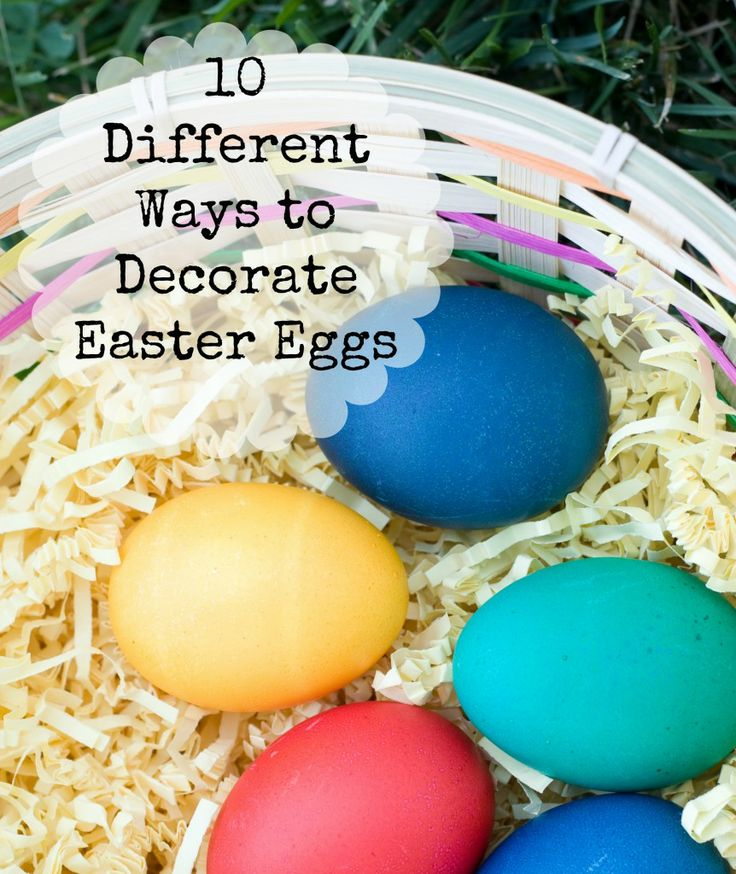 164 best easter eggstravagant images on pinterest easter eggs 10 different ways to decorate easter eggs easter eastereggs diy negle Gallery