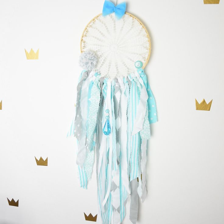 Dream catcher Kids Teepee Decoration Wall art dreamcatcher wall hanging mobile- Imaginary Friend by MamaPotrafi on Etsy