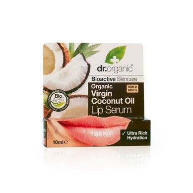 Το Organic Virgin Coconut Oil Lip Serum της dr.organic είναι ένα πλούσιο ενυδατικό σέρουμ με βιολογικό έλαιο καρύδας, που περιποιείται απαλά τα χείλη, αφήνοντας μια γλυκιά γεύση καραμέλας.  Τα θρεπτικά συστατικά του Organic Virgin Coco...