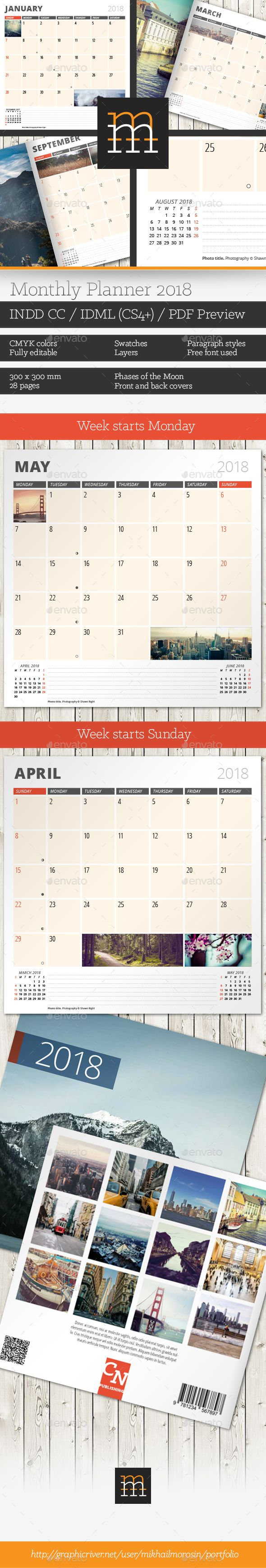 Fancy Monthly Planner