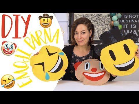 Vadiúj Emoji fejek DIY   Ki nyeri meg a párnákat?   INSPIRÁCIÓK Csorba Anitától - YouTube