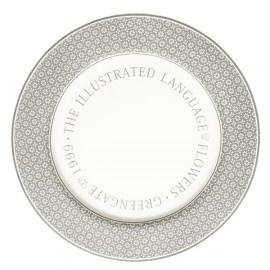 GreenGate Stoneware Dinnerplate Nanna Warm Grey D 25 cm