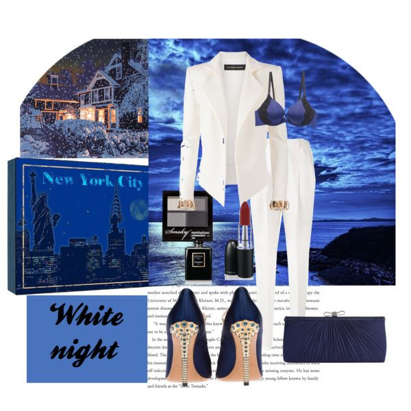 """White night"" by gelykou on Polyvore"