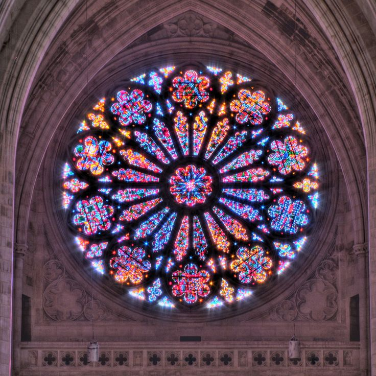 Creation Rose Window at the Washington National Cathedral by Kevin Borland on Flickr - Creation Rose Window at the Washington National Cathedral, Washington DC