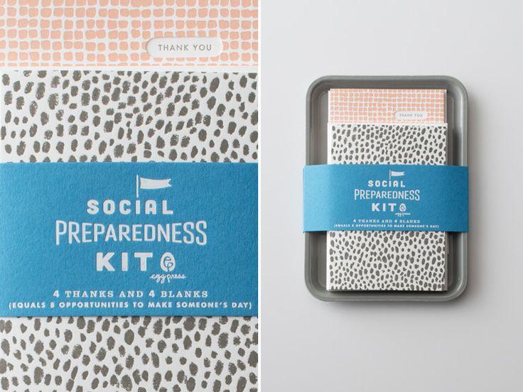 Egg Press - Social Preparedness Kit
