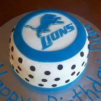 21 best Detroit Lions Cakes images on Pinterest Detroit lions cake