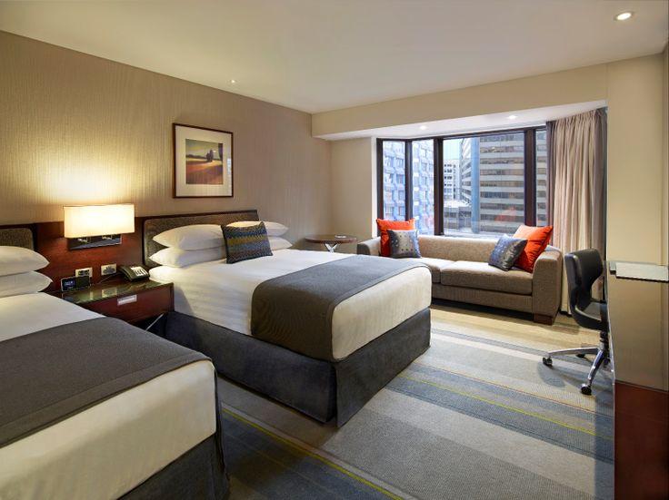 An elegant new Twin Deluxe Guestroom