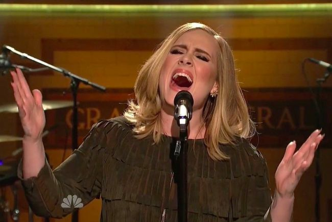 """Even without instruments, Adele's """"SNL"""" performance was amazing."""