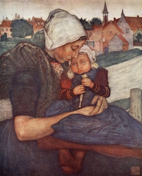 A Mother and Child of Axel, 1904 Prints by Nico Jungman | Magnolia Box