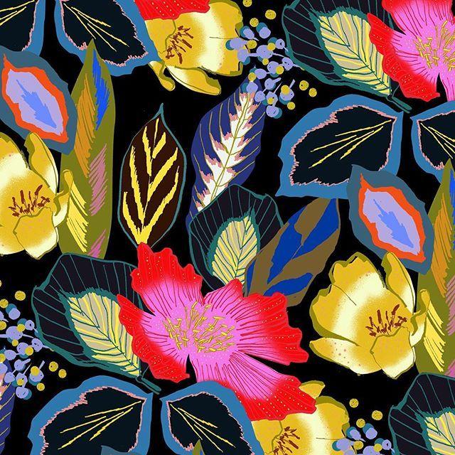 Instagram @eunjeong_yoo #Flower #Pattern