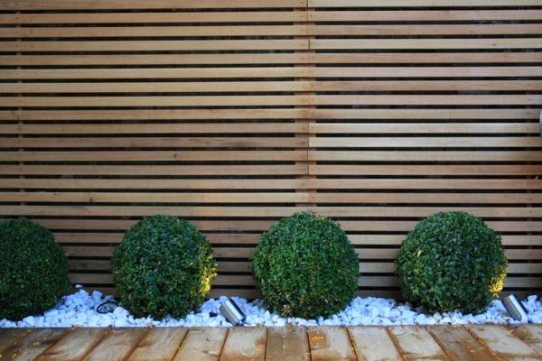 Les 25 meilleures id es de la cat gorie palissade jardin sur pinterest palissade palissade de - Idee occultation jardin ...