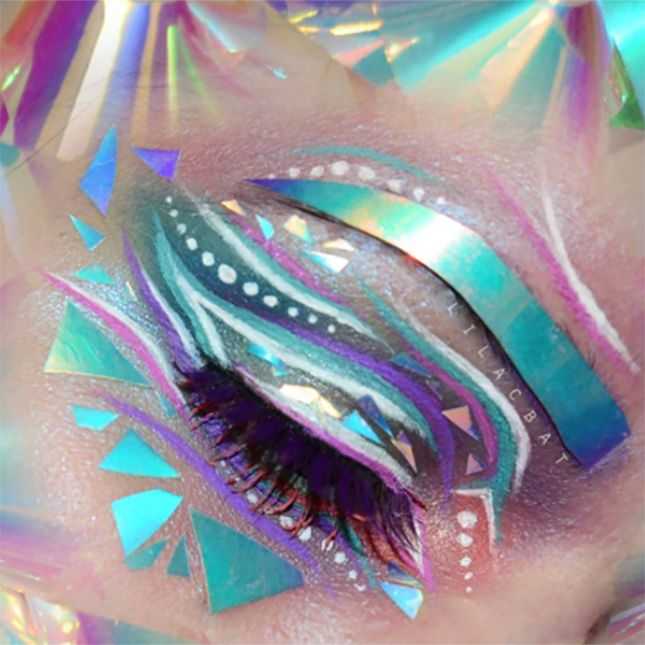 The Future Is Here: Holographic Makeup Is a Thing
