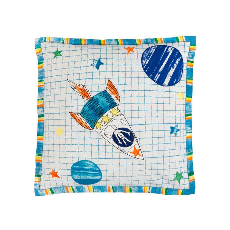 Designers Guild Kids, To The Moon, Cushion, Designers Guild #designerguild #royaldesign #design #kids #textiles