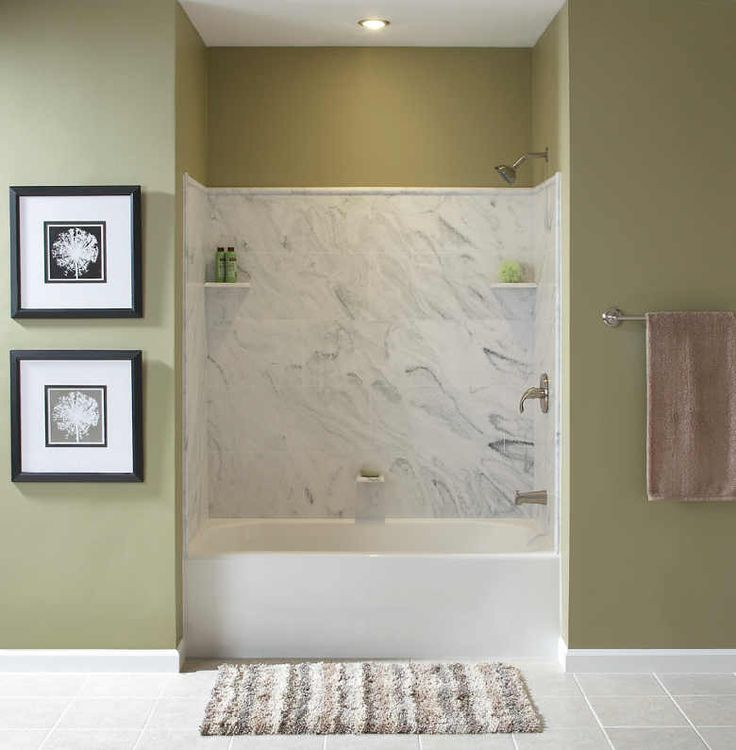 27 best Shower Ideas images on Pinterest | Shower wall panels ...