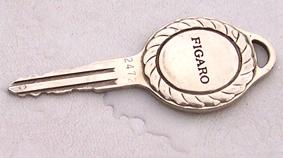 Nissan Figaro key
