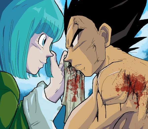 280 best goku vegeta all dragon ball images on - Goku e bulma a letto ...