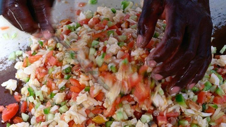 Conch Salad, Bahamas Style - Recipe - Men's Journal