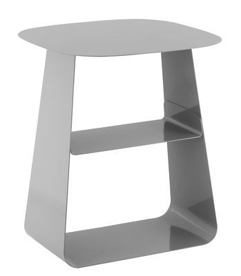 Stay Supplement table - 40 x 40 cm Steel by Normann Copenhagen - Design furniture and decoration with Made in Design