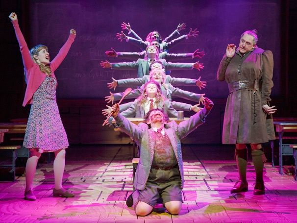 Take a trip into the extraordinary world of MATILDA with a photo first look