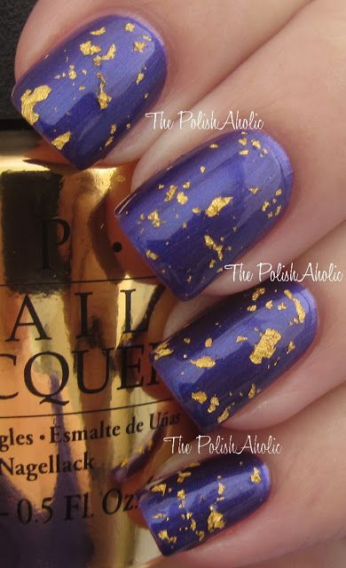 The PolishAholic: OPI The Man With The Golden Gun: The PolishAholic: OPI The Man With The Golden Gun