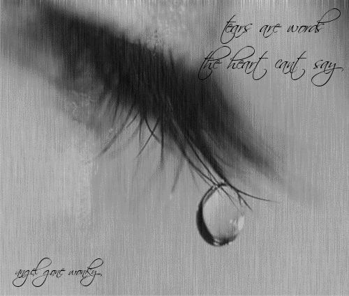 Today I cried...not because I was sad, but because the love I was feeling needed to be expressed. Zita Schmitt