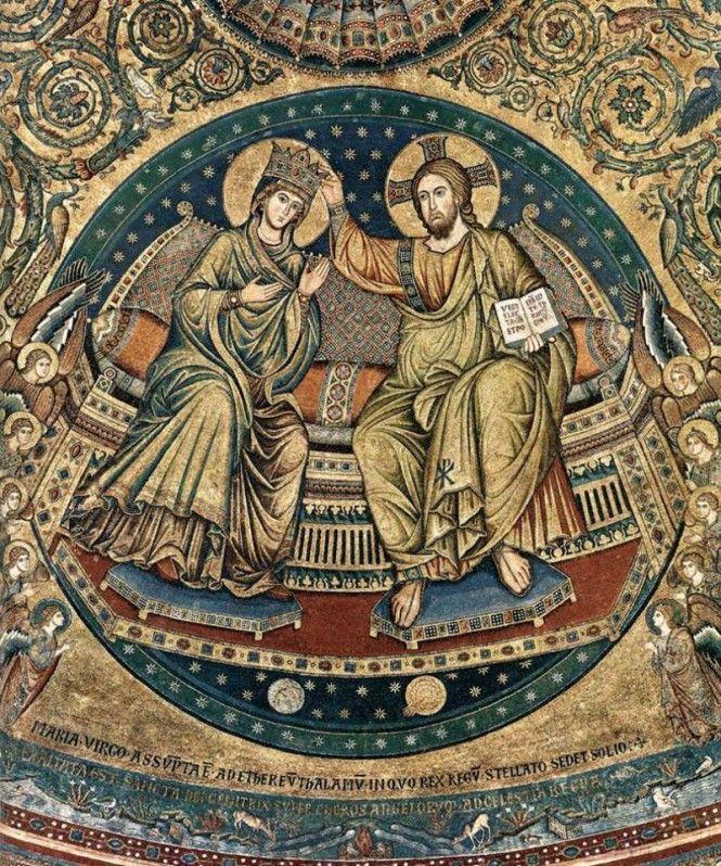 Jacopo Torriti's mosaics in www.italianways.com/torritis-splendid-mosaics-in-santa-maria-maggiore/
