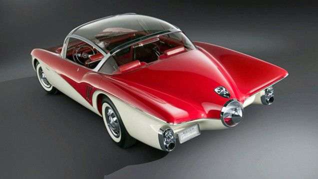 1956 Buick XP-301 Centurion Concept; the rear. #1950s