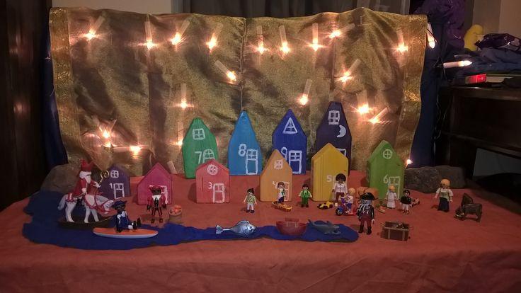Sinterklaas met Playmobil