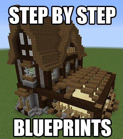 17 best ideas about minecraft blueprints on pinterest for Building a home step by step