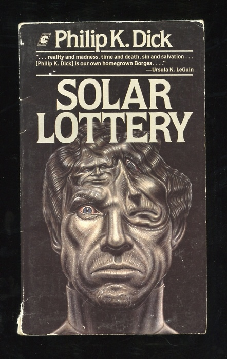 Solar Lottery, Philip K. Dick, book cover