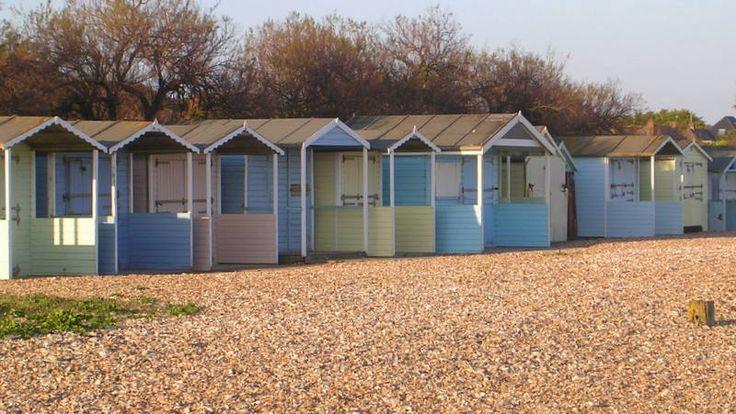 Rustington's beach huts