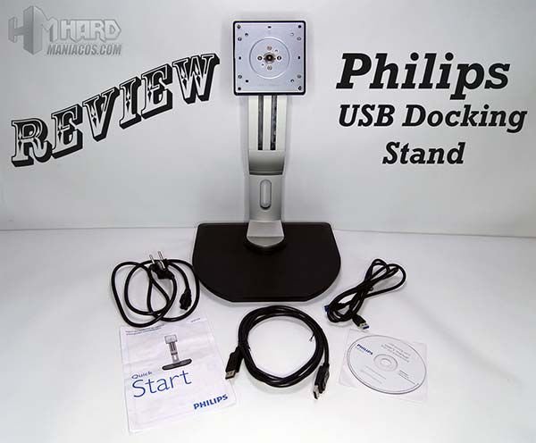 Review soporte monitor Philips USB Docking Stand