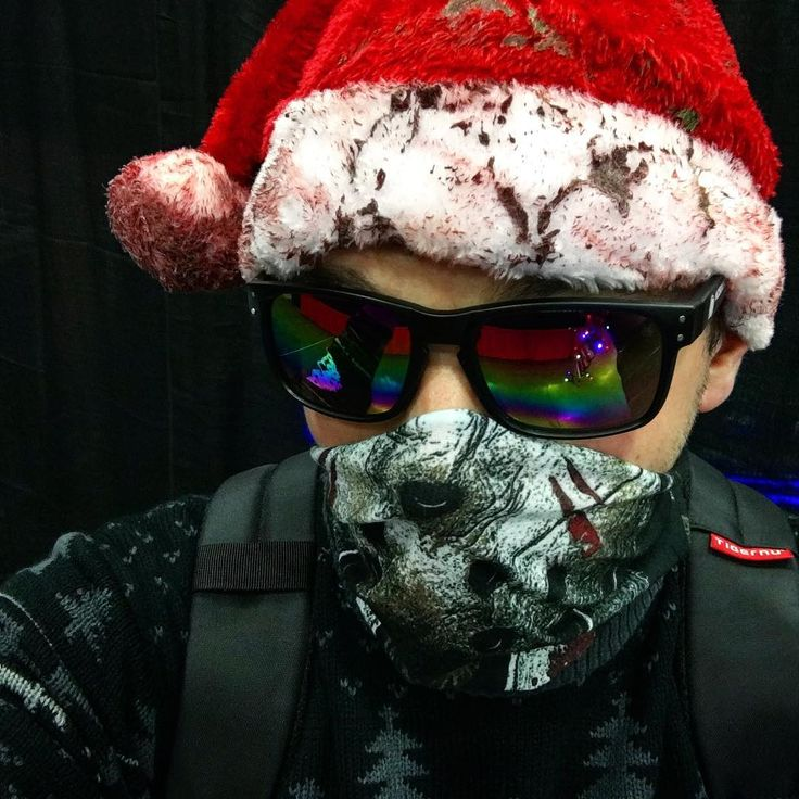 Christmas Jason wearing some Mikes Hard Lemonade sunglasses. #mikeshardlemonade #sunglasses #selfie #christmasjason #jasonvoorhees #fridaythe13th #santahat #wizardworld #wizardworldcomiccon #comiccon #wizardworldportland #wizardworldportland2017 #cosplay #cosplayers #keepportlandweird #l4l #amazing #l4like #like #like4like #f4f #pdx #portland #oregon #travelportland #photography #photo #iphone6splus - Use code WITBLADE at checkout for 10% off Wizard World 2018 tickets!