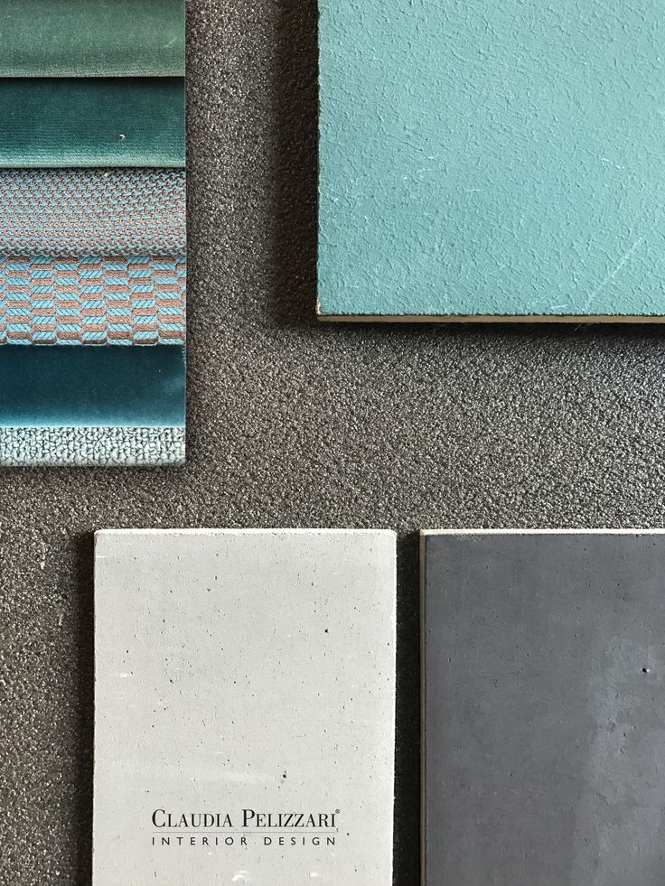 Gray and blue.  #Mood #material #claudiapelizzariinterior #interior #design #interiordesign #color #details
