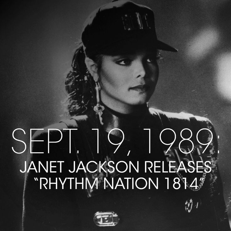 "Janet Jackson releases ""Rhythm Nation 1814"" the same year as Barack and Michelle's first date. #SouthsideWithYou"
