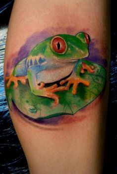 realistic tree frog tattoos more tattoo ideas artsy frogs tree frogs ...