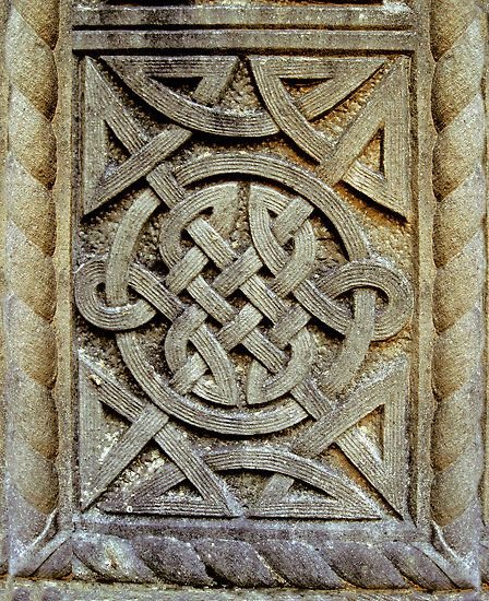 Images about celtic architectural relief on