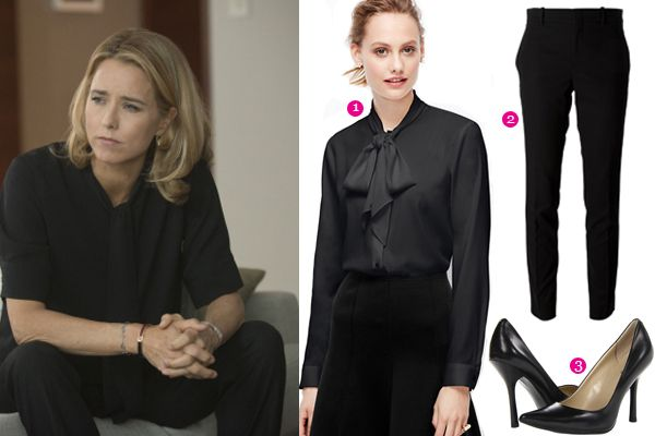 Sleek in Black - Madam Secretary Style I SharpHeels