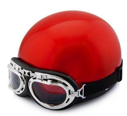 Vintage Skull Motorcycle Helmet - 20 Styles