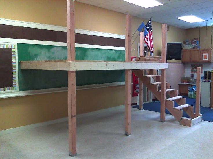 Classroom Loft Ideas : Best images about reading loft on pinterest classroom