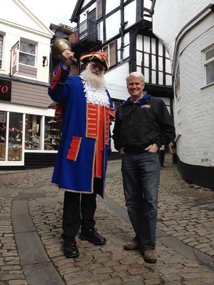 Martin Wood, Shrewsbury's town crier
