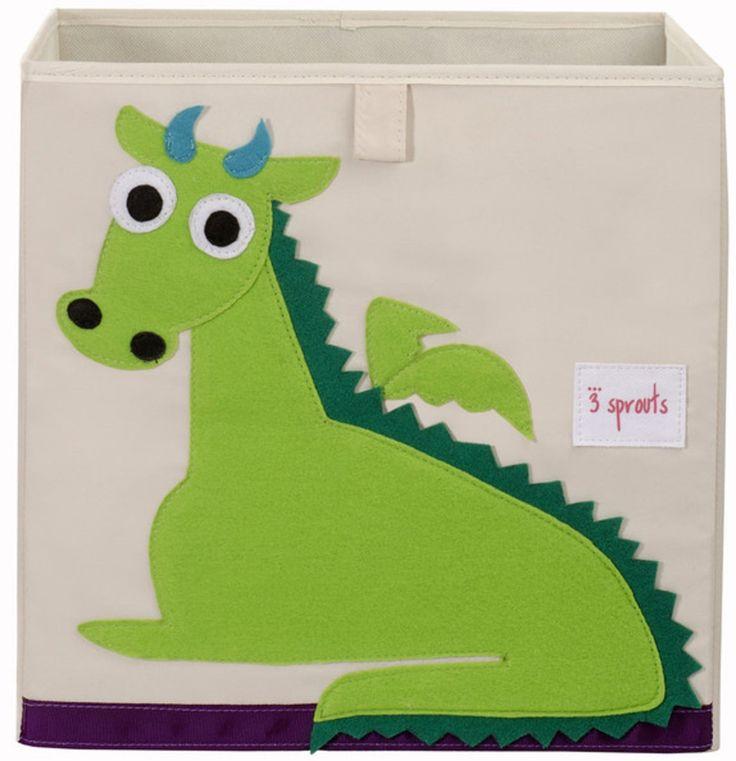 Köp 3 Sprouts Förvaringsbox Drake | Barnrummet Förvaring | Jollyroom