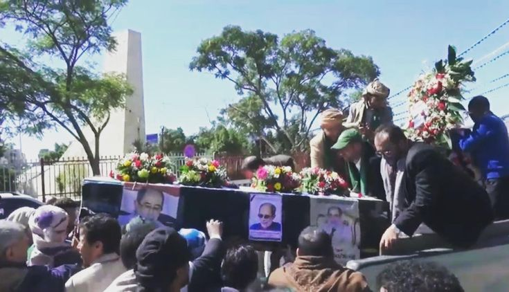 تشييع مهيب لجثمان شهيد الوطن حسن زيد بالعاصمة صنعاء Yemen