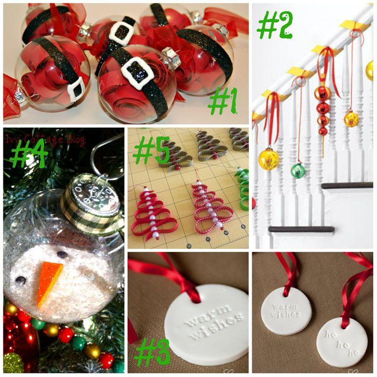 My picks: Holiday Ornament DIY Round-up