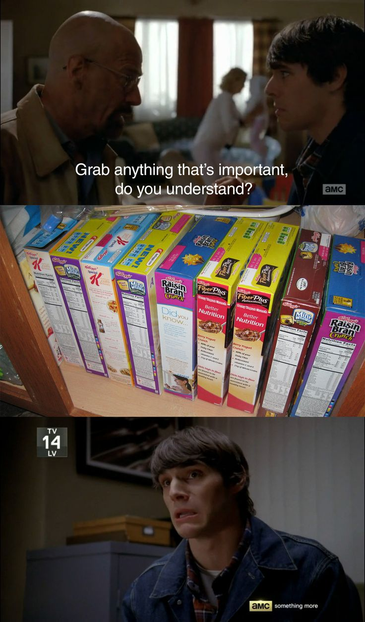 Breaking Bad: Grab what's important. why is this so funny to me? #breakingbadhumor