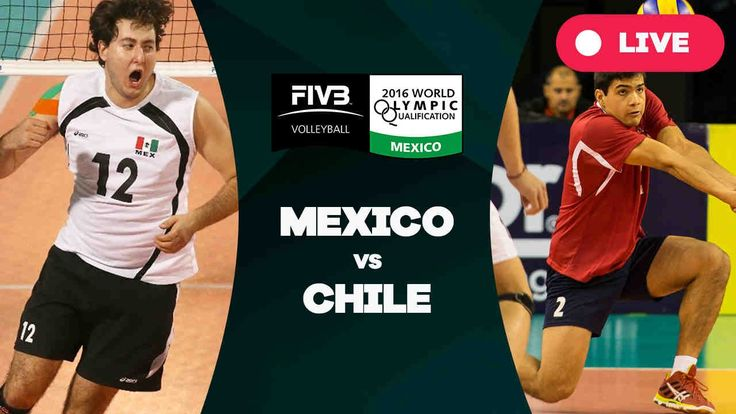 Mexico v Chile - 2016 Men's World Olympic Qualification Tournament