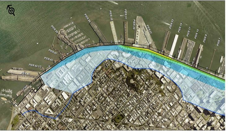 San Francisco begins Seawall reinforcement against sea level rise/earthquake http://www.enr.com/blogs/12-california-views/post/39403-san-francisco-begins-fortification-process-of-100-year-old-seawall